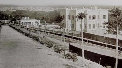 قصر المهاجرين 1905 – قصر حسين ناظم باشا –  من الغرب إلى الشرق (6)