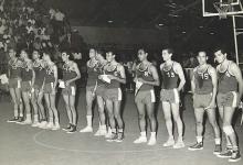 صورة فريق الجمهورية العربية المتحدة في الدورة العربية الرياضية في المغرب 1961