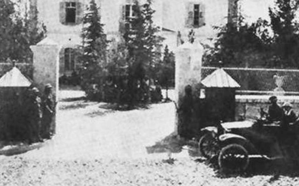 قصر المهاجرين 1914  – قصر حسين ناظم باشا  إبان العهد الفيصلي (10)