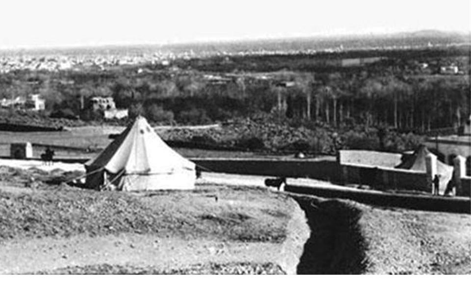 قصر المهاجرين 1914  – قصر حسين ناظم باشا – مقر أحمد جمال باشا  ومستشفى عسكري (9)