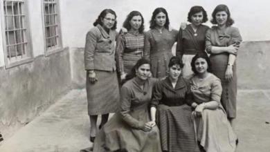 Bild von Deir ez-Zor 1959 – eine Gruppe von Lehrerinnen der Schule Ghranata