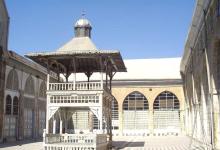 دمشق - صحن مسجد التوبة