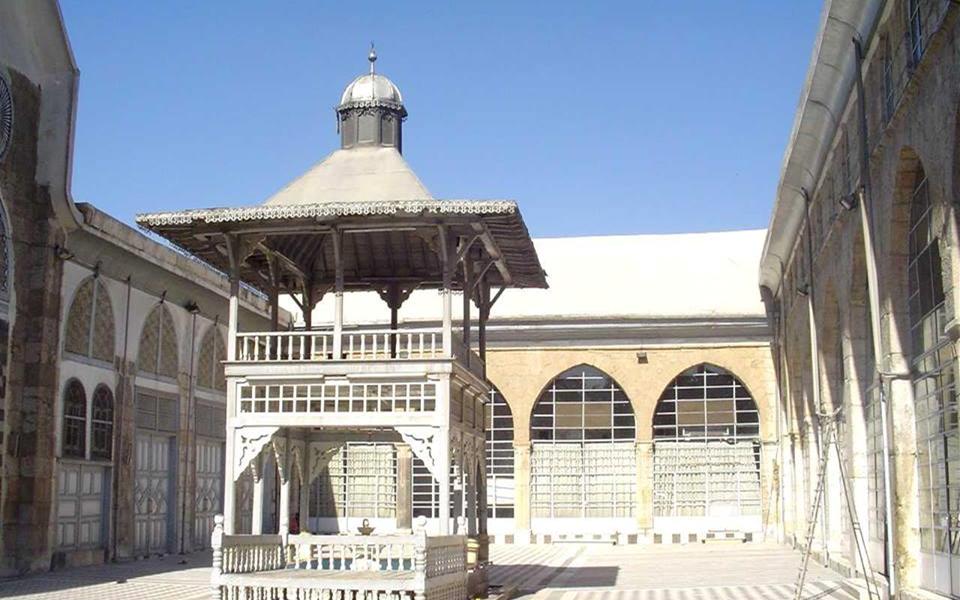 دمشق - صحن مسجد التوبة (2)