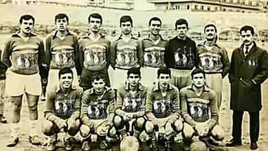 صورة دمشق 1969- فريق فتيان الأكراد لكرة القدم من أبناء حي الأكراد