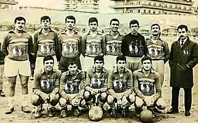 دمشق 1969- فريق فتيان الأكراد لكرة القدم من أبناء حي الأكراد