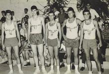 صورة دمشق 1960- منتخب دمشق لكرة السلة