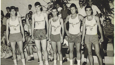 دمشق 1960- منتخب دمشق لكرة السلة