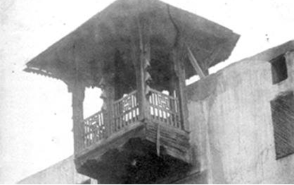 دمشق 1850 - المدرسة الشاذبكلية في حي القنوات