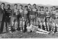 صورة فريق قرية مرج السلطان لكرة القدم عام 1959