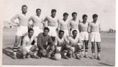 صورة فريق محطة النفط الثانية في دير الزور 1959