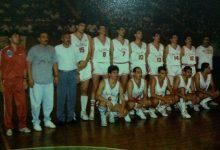 صورة فريق كرة السلة عام 1989