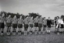 صورة فريق الجيش السوري في بودابيست عام 1958