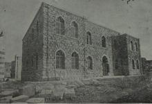 صورة دير الزور 1930- بناء القصر العدلي .. المحكمة