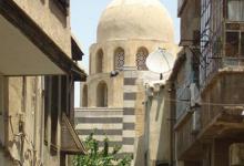 دمشق-  مسجد التوريزي - التربة من الداخل (4)