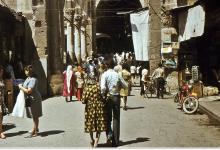 دمشق 1970- سوق الحميدية -المسكية