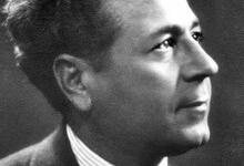 صورة خطاب أنطون سعادة أمام طلبة دمشق عام 1948
