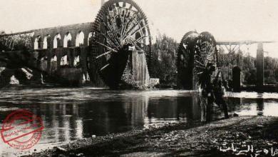 صورة حماة في العشرينيات – مجموعة نواعير البشريات
