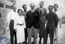 صورة أعضاء البعثة الدانماركية التي عملت في قلعة حماة ما بين عامي 1931 – 1938