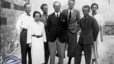 أعضاء البعثة الدانماركية التي عملت في قلعة حماة ما بين عامي 1931 - 1938
