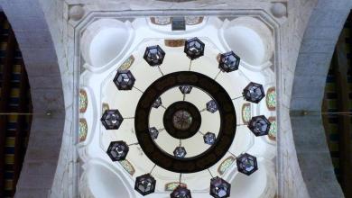 صورة دمشق- رقبة القبة العليا لمسجد التوبة (7)