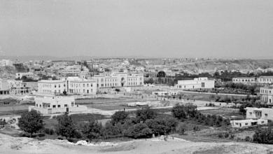 صورة حماة 1950 – ساحة العاصي