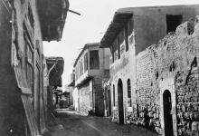 دمشق 1870- 1880 - خان جقمق – سوق مدحت باشا (2)