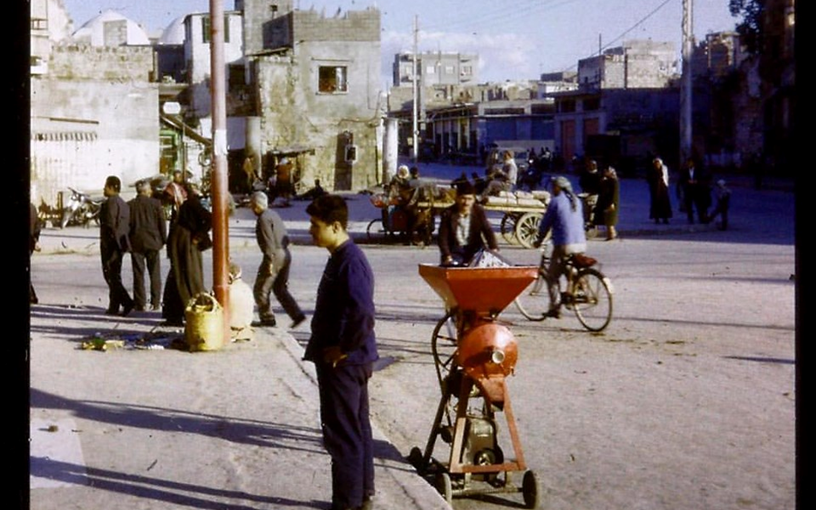 اللاذقية 1962- ساحة أوغاريت تقاطع شارع القوتلي