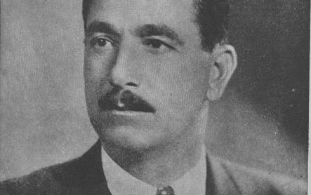 صورة صبحي العمري…مرشح دمشق المستقل لانتخابات المجلس النيابي عام 1950