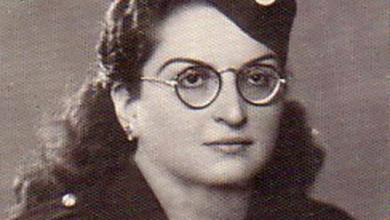 قمر قزعون شورى .. رئيسة فرع دمشق للهلال الأحمر في الستينيات
