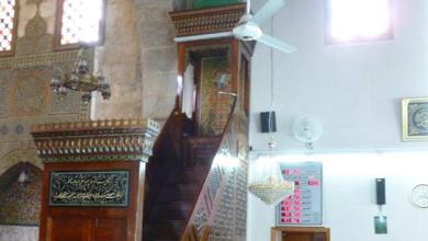 دمشق- منبر مسجد التوبة (8)