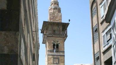 دمشق - مسجد التوريزي.. المئذنة (2)
