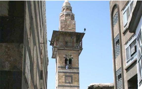 صورة دمشق – مسجد التوريزي.. المئذنة (2)