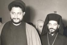 البطريرك أغناطيوس الرابع هزيم مع الإمام موسى الصدر