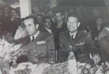 شوكت شقير وعدنان المالكي في نادي الضباط في دمشق 1955