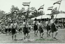 دمشق في الخمسينيات - احتفالات عيد الجلاء