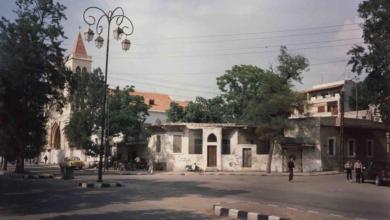 اللاذقية في الثمانينيات - شارع بغداد عند قهوة شيخ الشباب