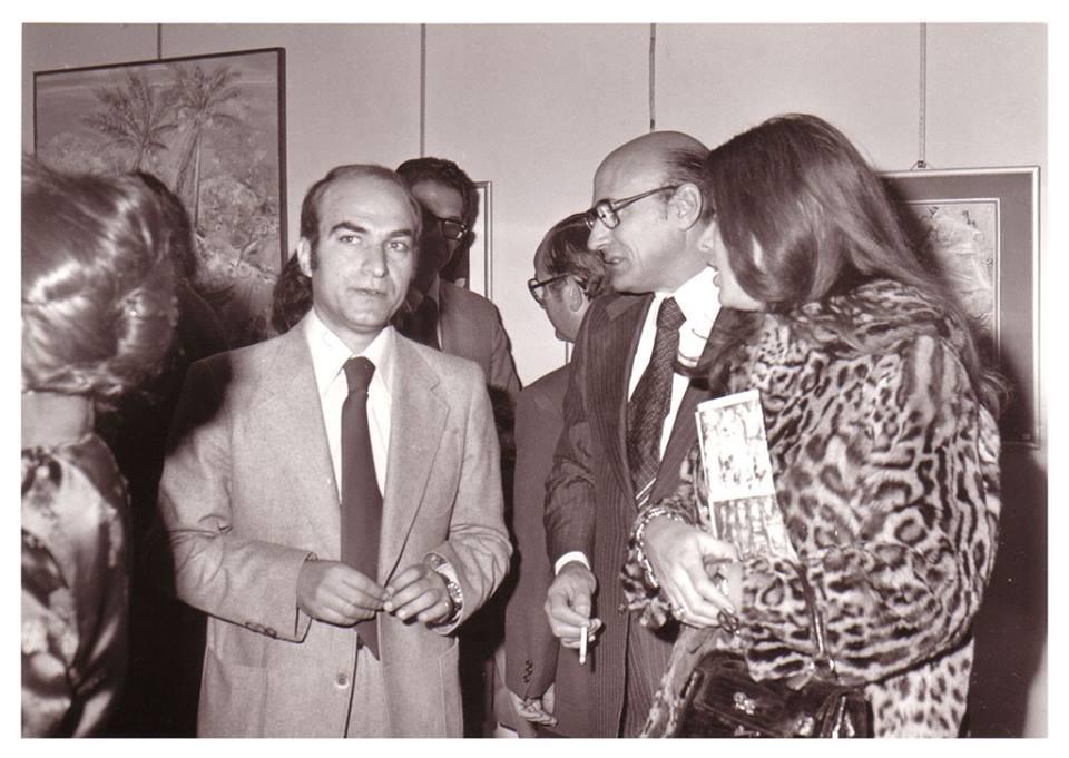 دمشق 1978 - المعرض الخامس للفنان أحمد مادون في المركز الثقافي الفرنسي