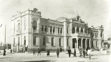دمشق 1907-1910- محطة الحجاز