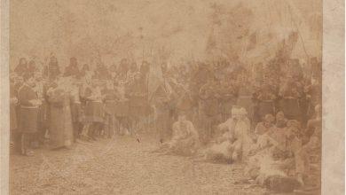 من الأرشيف العثماني - فرسان عشيرة الميران الكردية 1923