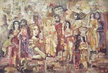 صورة احتفال – اللوحة الأشهر للفنان أحمد مادون (2)