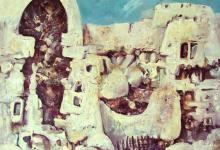 صورة لوحة معلولا  للفنان أحمد مادون (5)