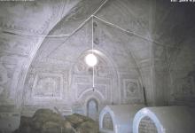 صورة دمشق 1992 – غرفة أضرحة المدرسة الشامية قبل الترميم (15)