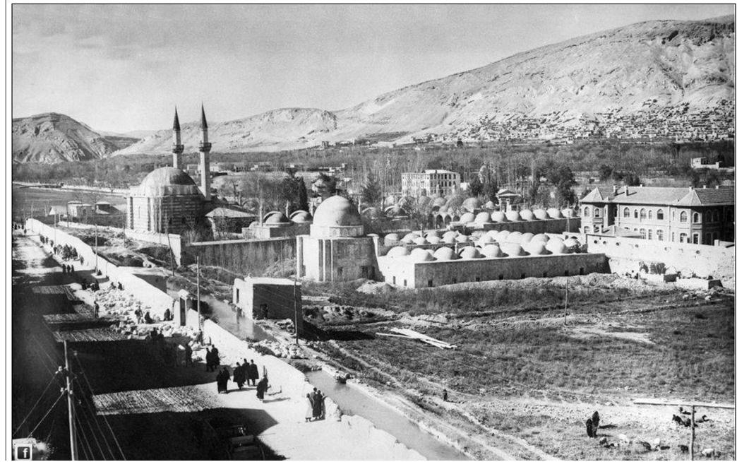 دمشق - التكية السليمانية 1917- 1918