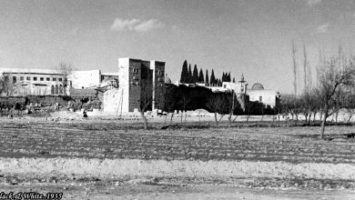 دمشق 1935 - باب كيسان وبستان الأعاطلة