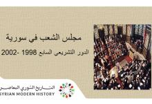 صورة مجلس الشعب في سورية – الدور التشريعي السابع 1998 – 2002