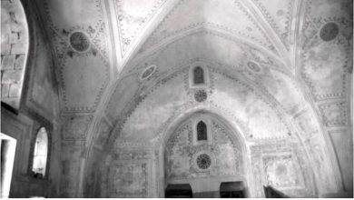 دمشق - الزخارف  في غرفة الأضرحة بالتربة الحسامية ضمن بناء المدرسة الشامية (17)