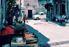 صورة دمشق 1983 – الصالحية سوق الجمعة .. نزلة الشركسية والمسجد الجديد