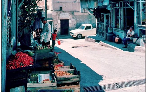 دمشق 1983 - الصالحية سوق الجمعة .. نزلة الشركسية والمسجد الجديد