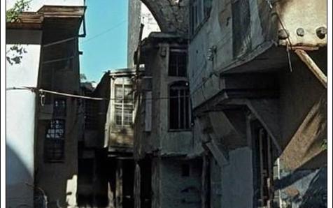 دمشق - الكلاسة .. خلف المسجد الأموي 1965