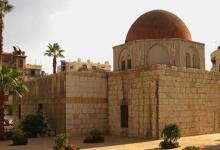 دمشق 1960 - نقل مبنى التربة والمدرسة الحافظية من مكانها القديم (3)